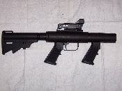 37mm Flare Launcher - Slam fire with Trigger, Stock & Rail