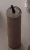 Cardboard fused tubes for 26.5mm aluminum reloadable MLR shells