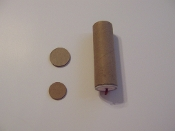 Cardboard 4 inch fused tubes for 37mm MLR shells